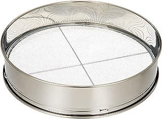 Safe-Deposit 3 stainless soil sieve 12inch for Bonsai (japan import)