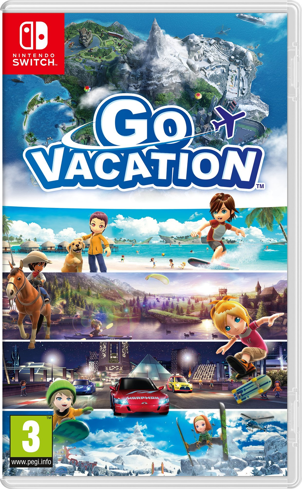 Go Vacation: Nintendo: Amazon.es: Videojuegos