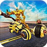 Futuristic Robot War: Tank Transform Robot games