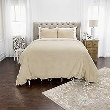 Rizzy Home DOH Cottonwood Natural Duvet Set, King