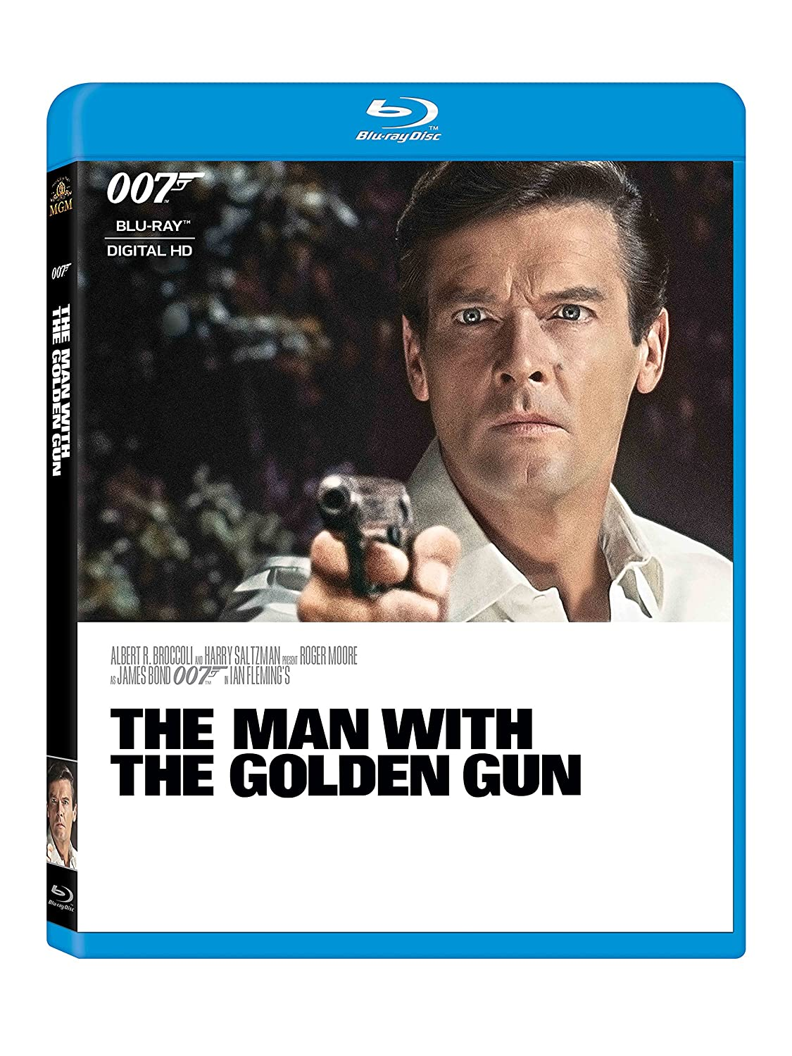 Man with the Golden BD The Max 77% OFF Gun Blu-ray 5% OFF