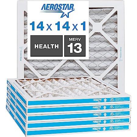 Nordic Pure 14x18x1ExactCustomM8+C-12 MERV 8 Carbon AC Furnace Filters 12 Piece