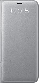 Samsung Galaxy S8 LED View Wallet Case, Silver