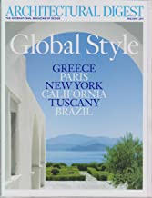 Architectural Digest January 2011 Global Style (Greece Paris New York California Tuscany Brazil)