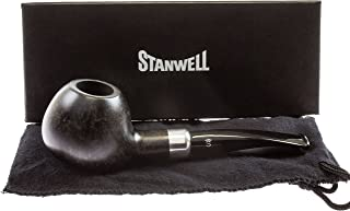 Stanwell Army Mount Black 109 Tobacco Pipe - Smooth