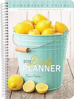 2018 Daily Planner: Homemaker's Friend Daily Planner