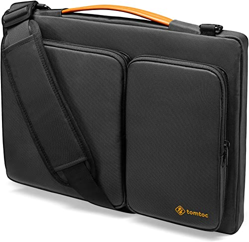 tomtoc 360 Protective Laptop Shoulder Bag for 15.6 Inch Acer Aspire 3/5/7 Laptop, HP Pavilion 15.6, Dell Inspiron 15 ...