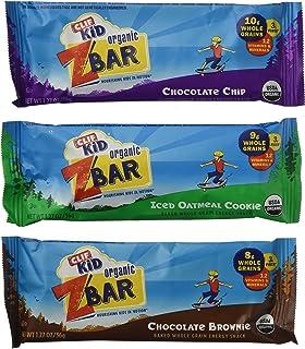 CLIF Kid Organic ZBar Baked Whole Grain Energy Snack, Variety Pack (36 bars)