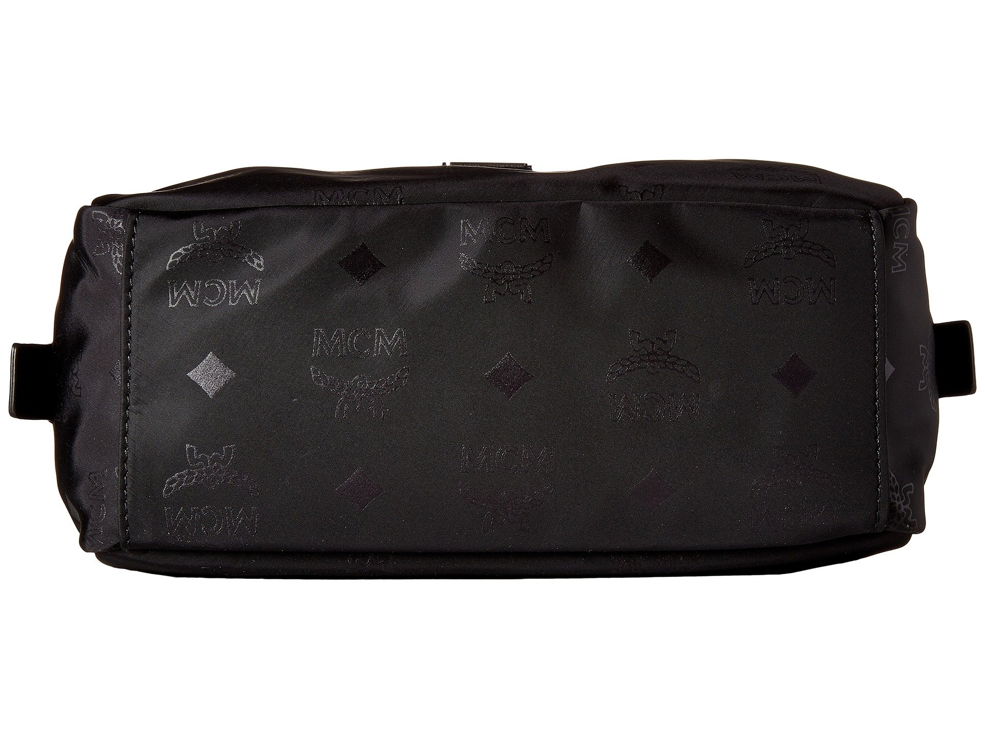 Cosmetic Pouch Nylon Black Small Mcm Dieter Monogrammed 1ZwIIT
