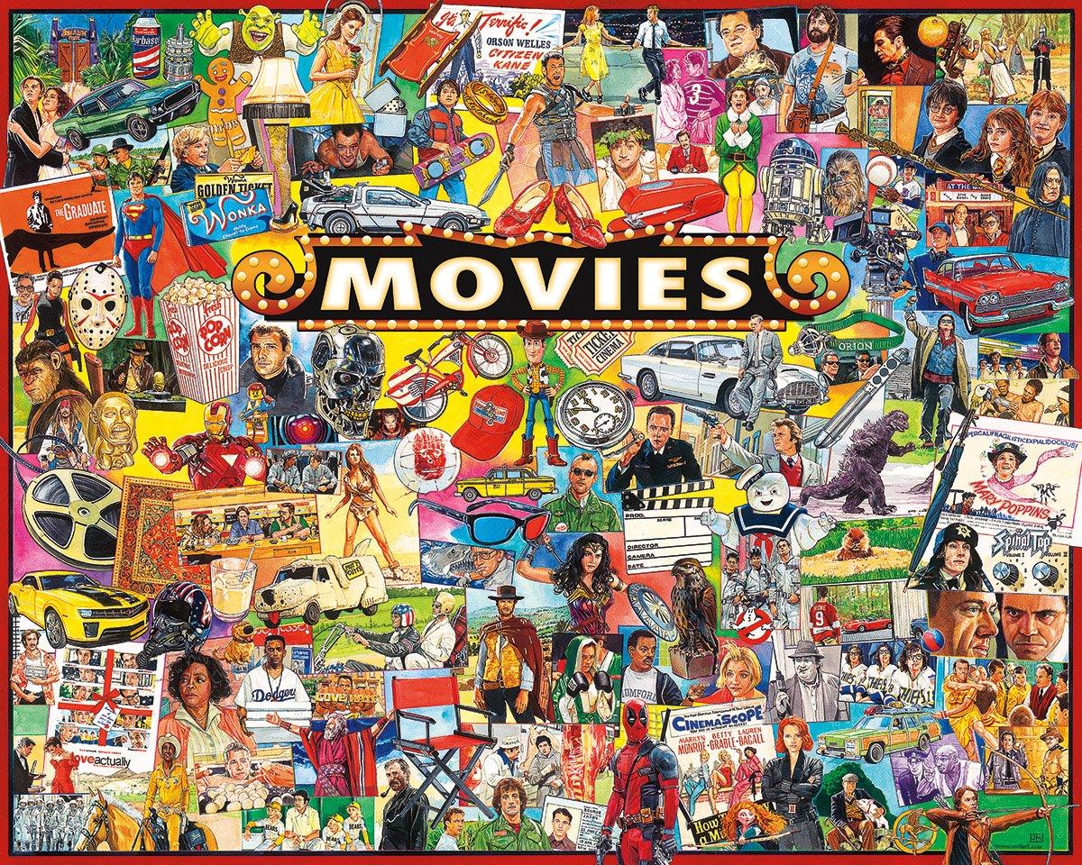 White Mountain Puzzles Movies Jigsaw