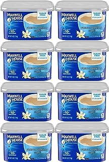 Maxwell House International Cafe French Vanilla Sugar Free (8 pack)
