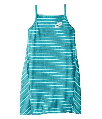 Nike Kids NSW Dress (Little Kids/Big Kids) (Cabana/Teal Tint/White) Girl