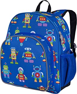 Wildkin 12 Inch Kids Backpack for Toddlers, Boys & Girls, 600 Denier Polyester Backpack for Kids, Ideal Size for School & ...