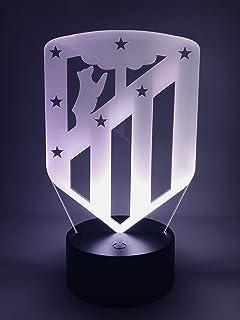 ATLETICO MADRID Escudo Lámpara Original Accesorios de 2018-