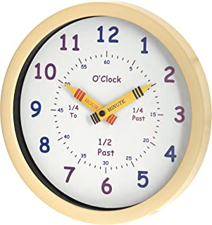 Unity Wall Clock, Cream, 24.9 x 24.9 x 4 cm