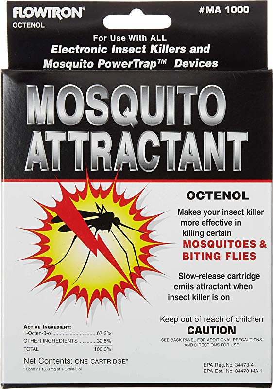 Flowtron MA 1000 Octenol Mosquito Attractant Cartridge