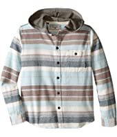 Billabong Kids - Horizon Long Sleeve Button Up Shirt (Big Kids)