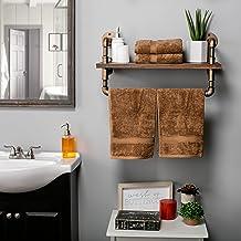 مجموعة مناشف الحمام من سوبريور لأكسسوارات الحمام، 4 قطع يد ولايت، عدد 4