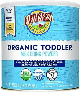 organic toddler milk powder
