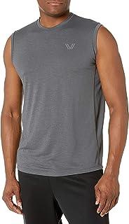 Peak Velocity Men's VXE Sleeveless Quick-Dry Multiple-Fit T-Shirt
