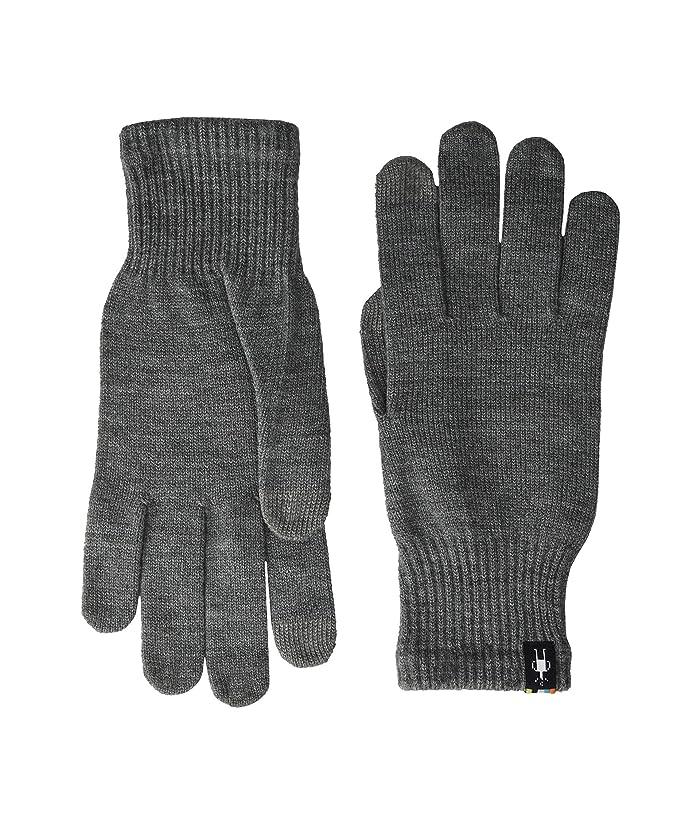 Smartwool Liner Glove (Silver Gray Heather) Liner Gloves