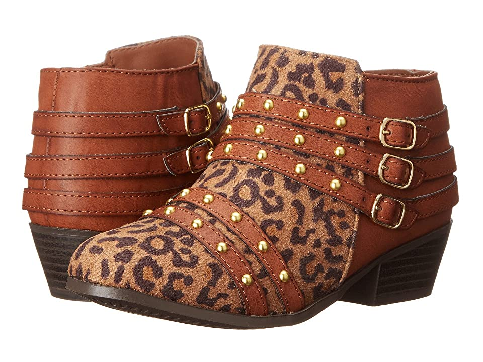 Jessica Simpson Kids Eden (Little Kid/Big Kid) (Tan Leopard) Girl