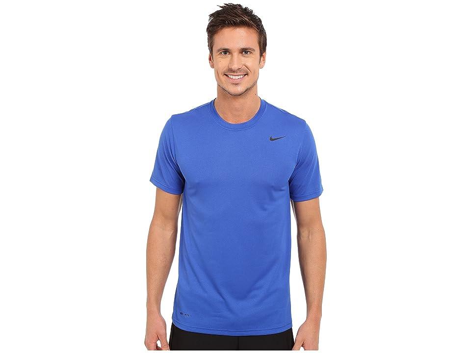 Nike Legend 2.0 Short Sleeve Tee (Game Royal/Black/Black) Men