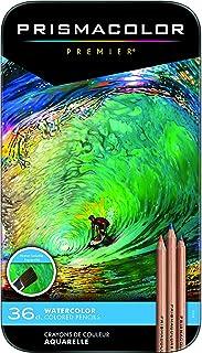 Prismacolor 4066 WATERCOLOR PCL SET OF 36 Colored Pencils