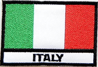 ITALY ITALIA Flag National Rome Country Team Military Army Biker Jacket T shirt Uniform Patch Sew Iron on Embroidered Badge Sign Costume2