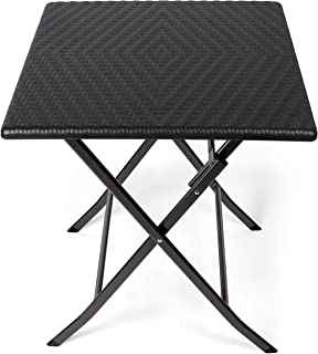 Amazon.fr : table haute carrée - Tables / Mobilier de jardin ...