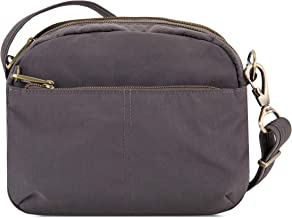 Travelon Anti-Theft Signature E/w Shoulder Bag, Smoke, One Size