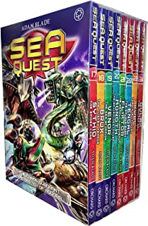 Adam Blade Sea Quest Series 5 and 6 Collection 8 Books Box Set (Book 17-24) (Sythid the Spider Crab, Brux the Tusked Terror, Venor the Sea Scorpion, Monoth the Spiked Destroyer)