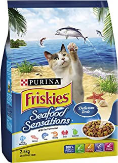 Friskies Adult Seafood Sensations, 2.5kg