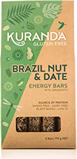 Kuranda Gluten Free Brazil Nut and Date 5 Energy Bars