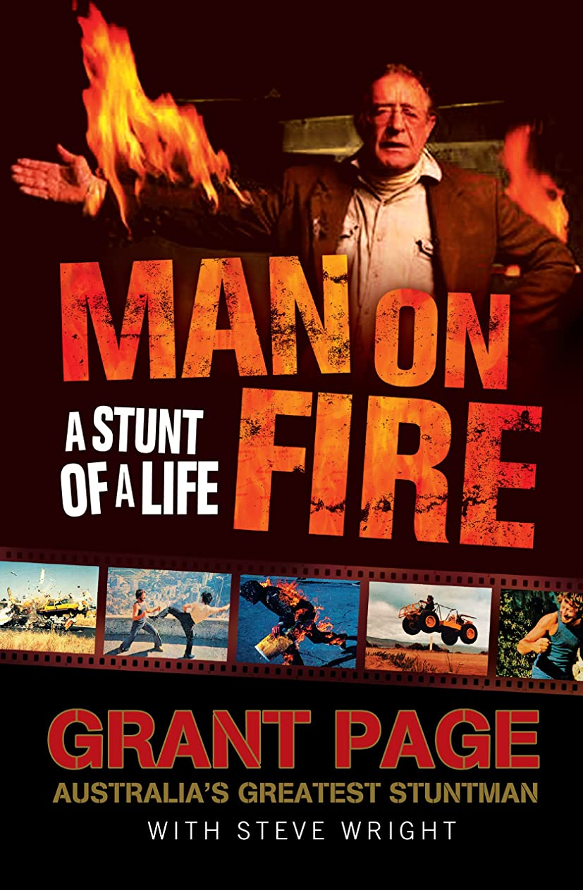 すばらしいですフェード処方Man on Fire: A Stunt of a Life (English Edition)