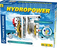 Thames & Kosmos Hydropower Science Kit   12 Stem Experiments   Learn About Alternative & Renewable Energy, Environmental Science   Parents' Choice Recommended Award Winner