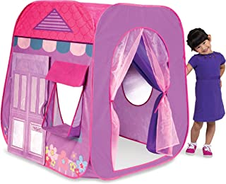 Playhut Beauty Boutique Pop-Up Play Tent – Easy Pop-Up and Fold Down, Working Door,..