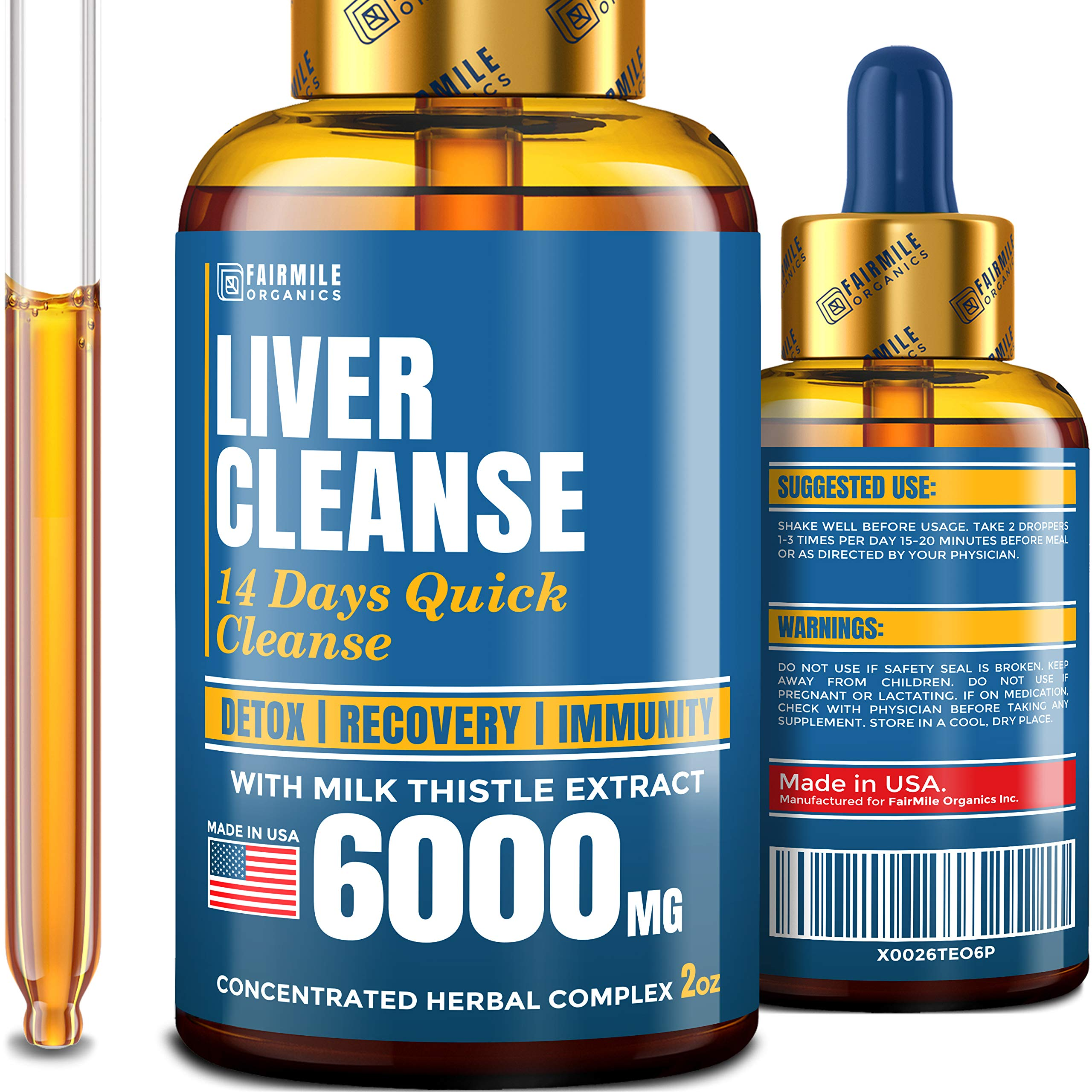 Liver Cleanse 6000 Milk Thistle