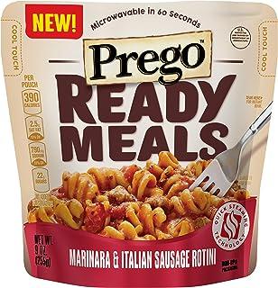 Prego Ready Meals, Marinara & Italian Sausage Rotini, 9 oz. (Pack of 6)