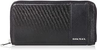 (ディーゼル) DIESEL メンズ ウォレット サフィアーノレザー ラウンドジップ 長財布 X06125P2679
