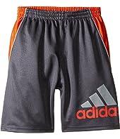 adidas Kids - Midfielder Shorts (Toddler/Little Kids)