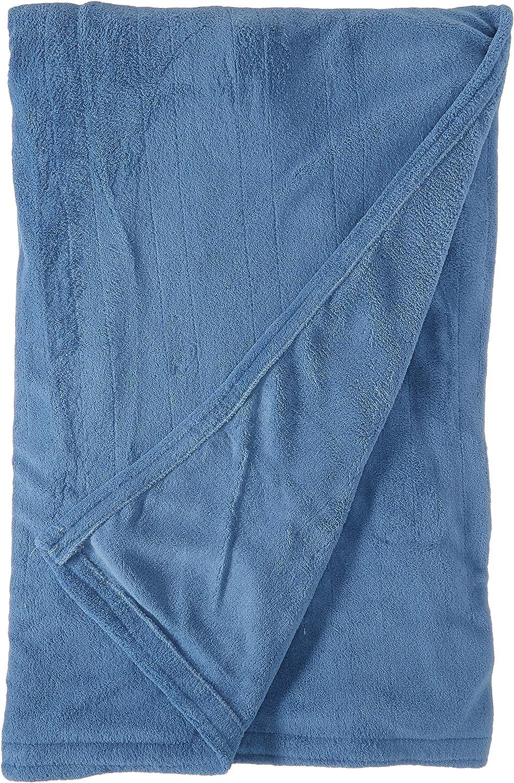 Biddeford 2031-903291-500 MicroPlush Electric Heated Blanket Full Denim bluee
