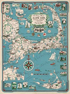 Best cape cod map art Reviews