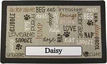 Best personalized dog mats for food Reviews