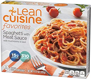 Lean Cuisine Favorites Spaghetti with Meat Sauce - Frozen Meal with 15g of Protein and No Preservatives, Ready in Minutes (11.5 oz.)
