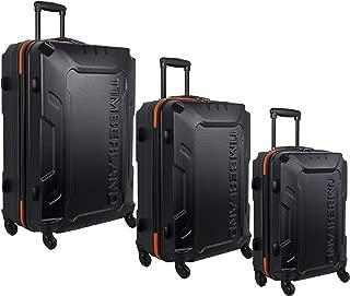timberland 3 piece luggage set