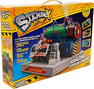 Amazing Steam Engine   Build Your Own Steam Powered Train   140 Pieces Included