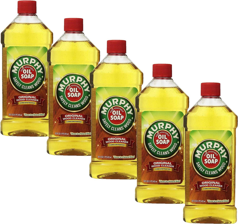Murphy Oil Soap Original Formula 16 fl ml Pack 5 473 ブランド買うならブランドオフ oz - 購入 of
