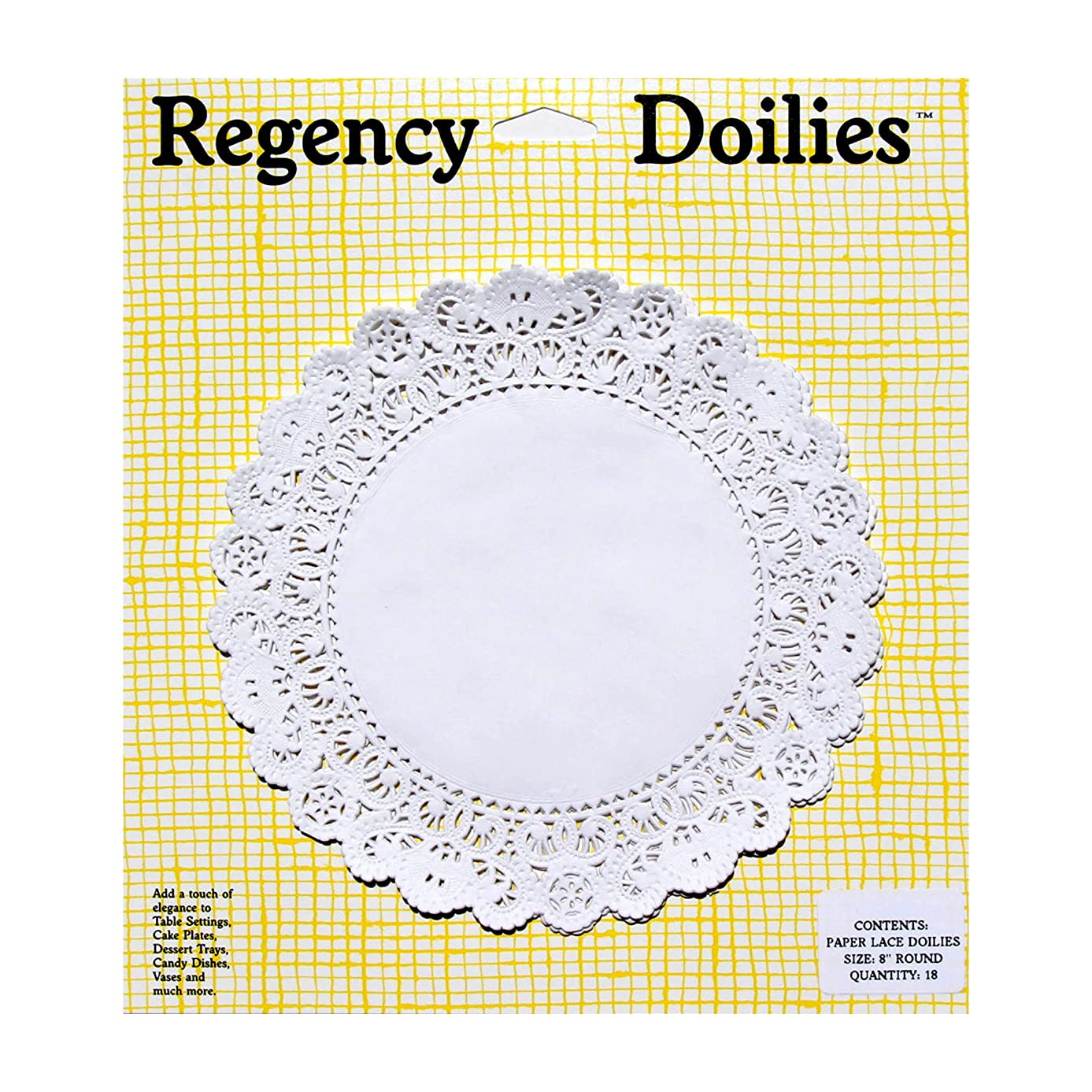 Regency Wraps Elegant Paper Lace Doilies, RW0027, 8