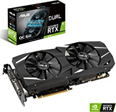 ASUS DUAL RTX 2060 Overclocked 6G VR Ready Gaming Graphics Card – Turing Architecture (DUAL RTX 2060-O6G)